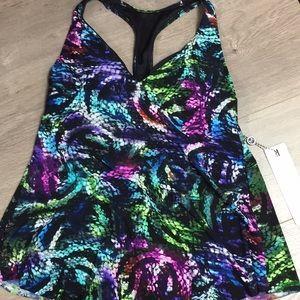 Magicsuit Snakeskin Tankini Swimsuit Top NWT